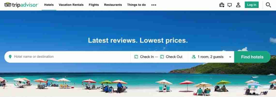 TripAdvisor - Affiliate Marketing Examples