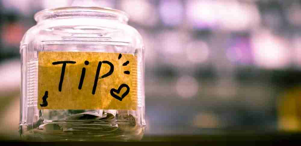 Picture of a Tip Jar. Alternative Ways to Make Money From YouTube