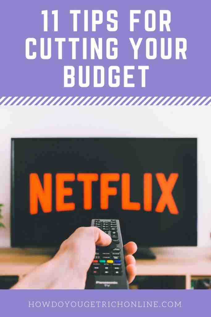 Pinterest Image - How to Drastically Cut Expenses With 11 Easy Budgeting Tips