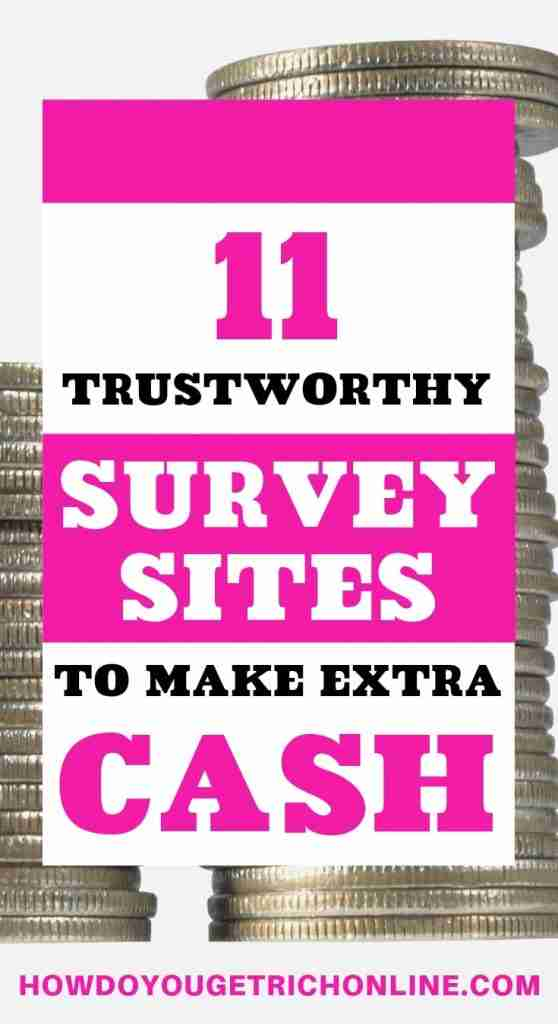 11 Trustworthy Survey Sites to Make Extra Money in 2019