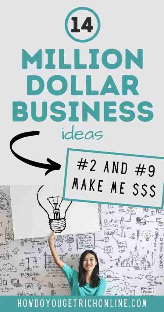 Million Dollar Business Ideas to Start With No Money