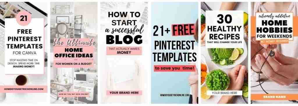 21 Free Pinterest Templates for Canva