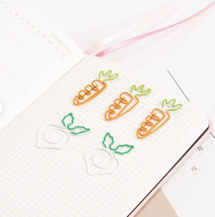 InsideMyNest - Carrot and Radish Clip