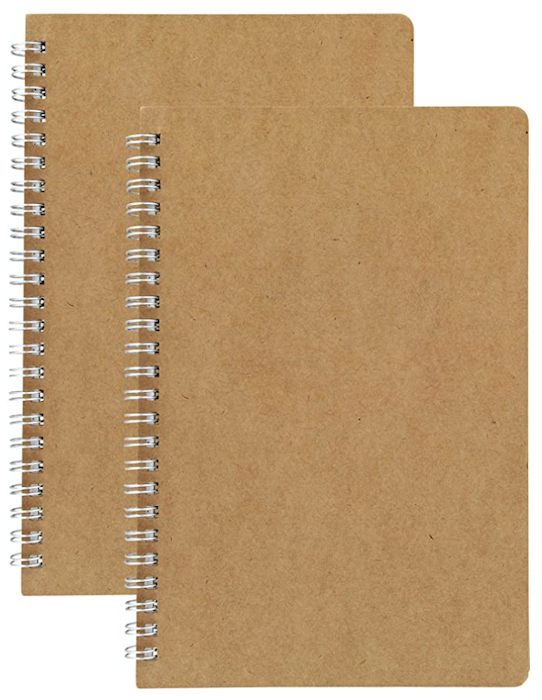 Hulytraat - Dot Grid Spiral Notebooks