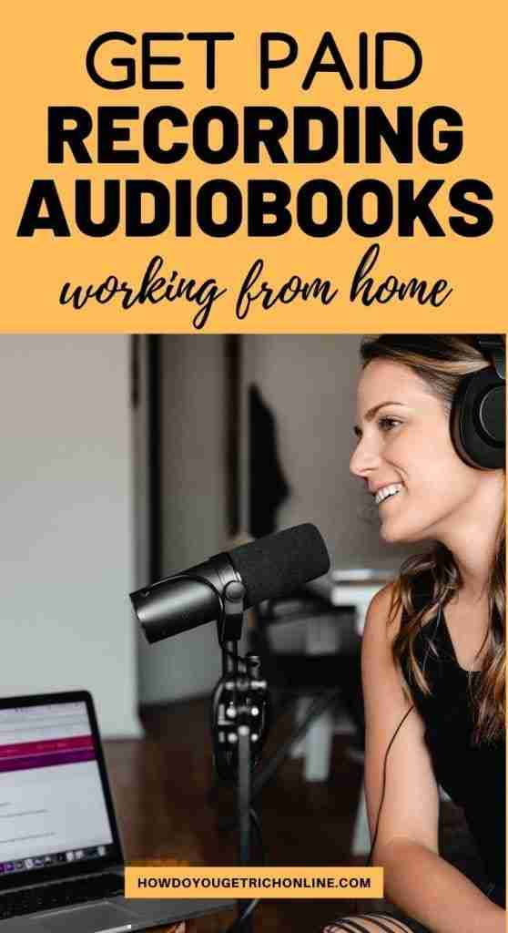 Want to know how to become an audiobook narrator. Discover the secrets behind how to get paid to record audiobooks for money!