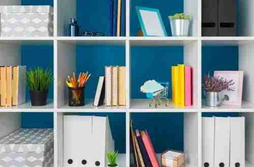 12+ Home Office Organization Ideas, Hacks & Tips